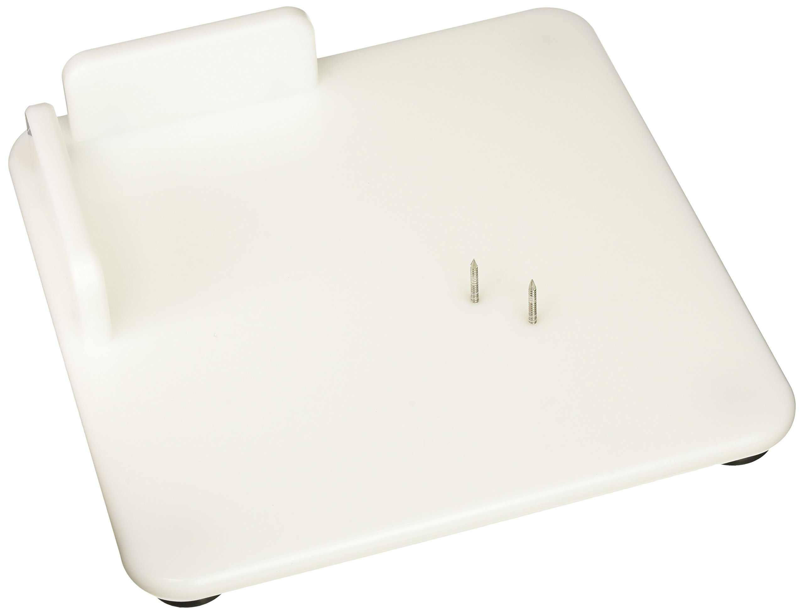 Sammons Preston Hi-D Paring Board, Single Handed Cutting Board with Aluminum Nails for Peeling and Slicing, Suction Feet for Sticking to Counter, and Corner Guards Prevent Food Sliding, 11'' Square by Sammons Preston