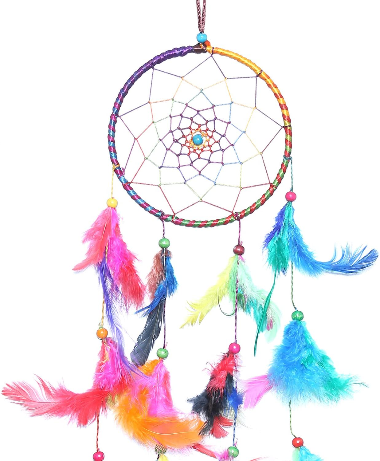 - Amazon.com : Purpledip Dream Catcher Rainbow Colors - Handmade