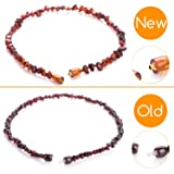 Minetom Baltic Amber Teething Necklace for