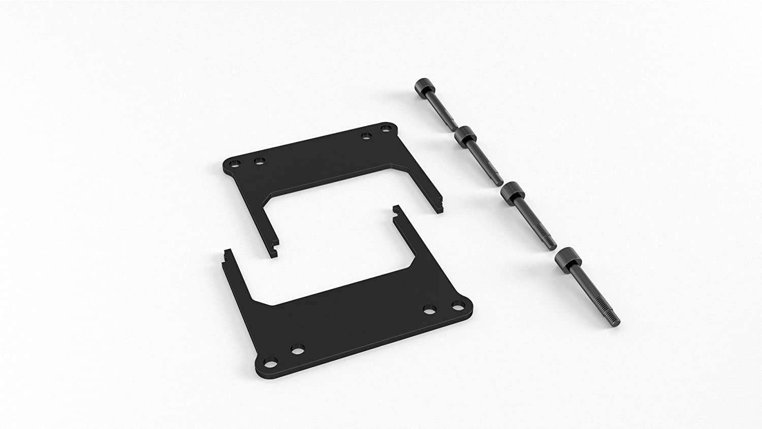 Alphacool 12875 AMD Threadripper/Epyc TR4/SP3 mounting Bracket for Eisbaer/Eisblock/Silent Loop incl. Screws Water Cooling CPU - Water Blocks