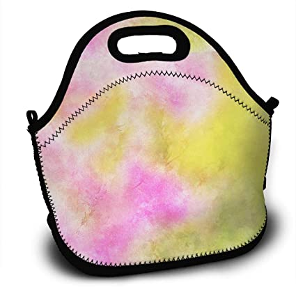 bc20b4b16c04 Amazon.com - Colored Oil Painting Lunch Bags for Women, Men and ...