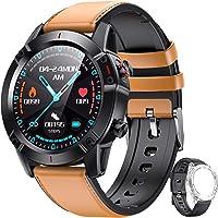 AGPTEK Smartwatch Hombre, Reloj Inteligente de HD Pantalla Táctil Completa Impermeable…