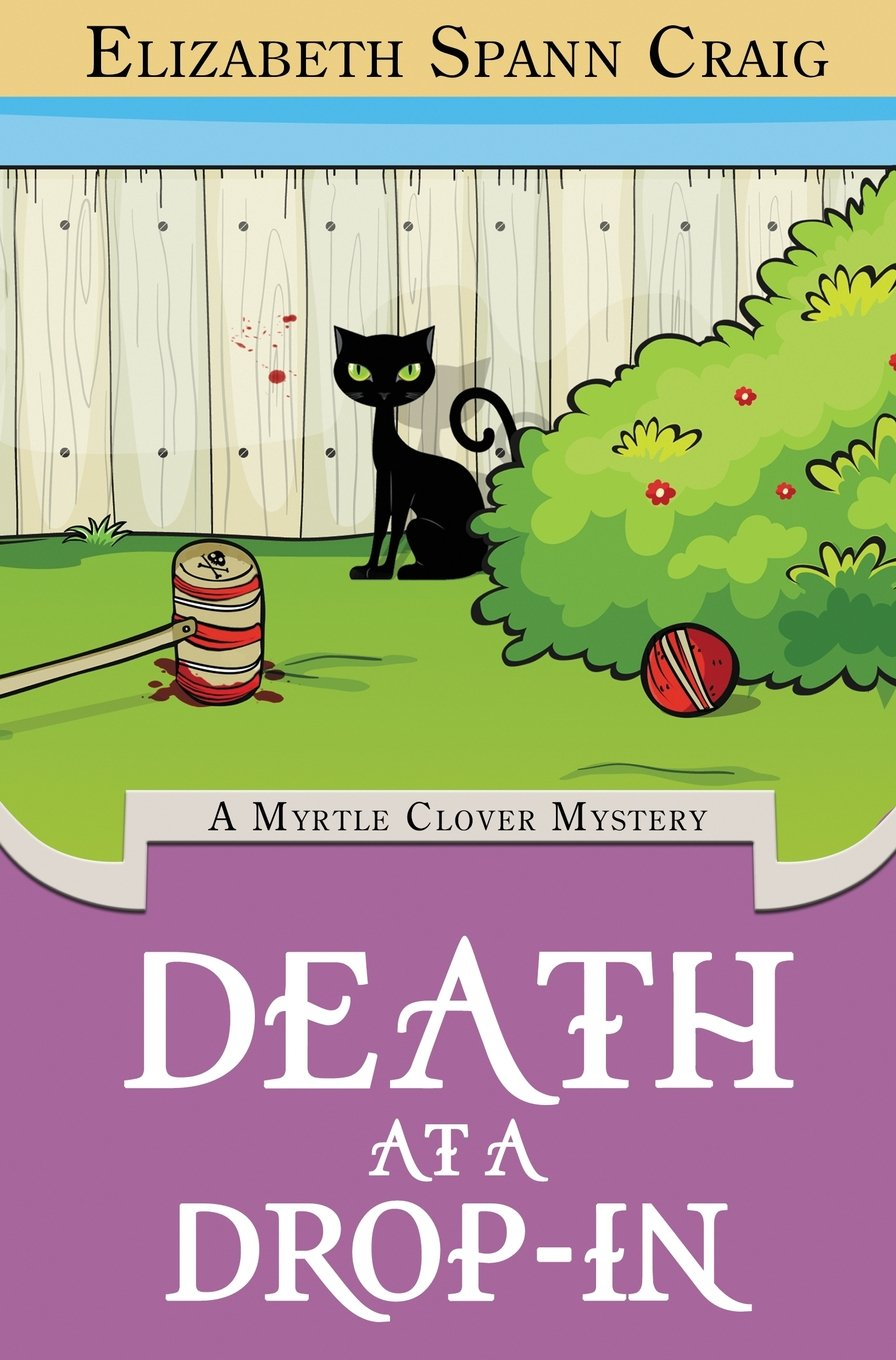 Download Death at a Drop-In (A Myrtle Clover Cozy Mystery) pdf epub