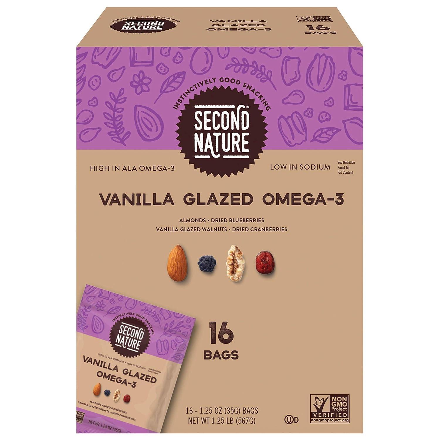 S Nature Vanilla Glazed Omega3 16Count/1.25 Oz Net Wt 20 Oz,, ()