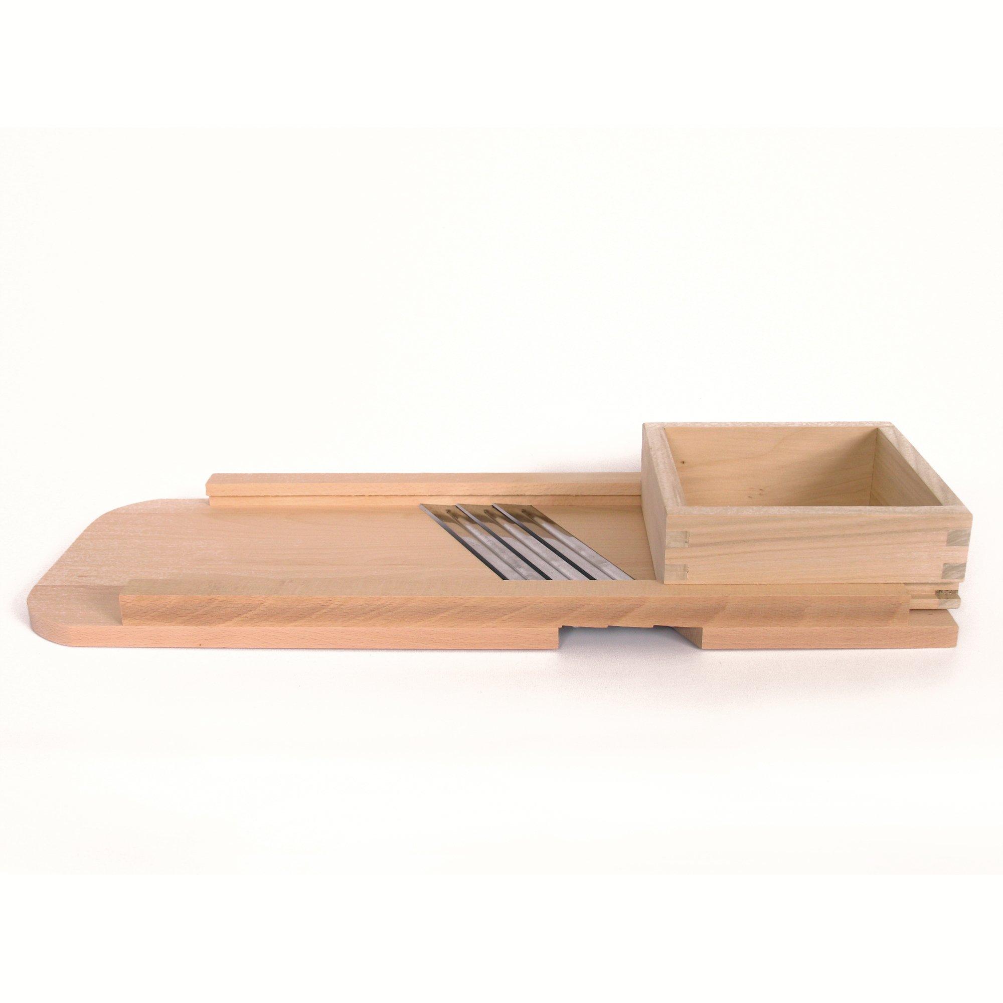 Wood Cabbage Shredder - Slaw Board - Large