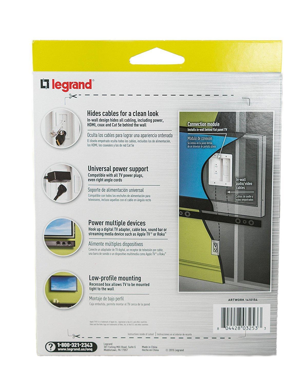 Legrand HT2102-WH-V1 Blanco caja de tomacorriente - Caja registradora (203 mm, 159 mm, 66 mm, 20,3 cm (8