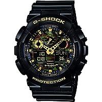 G-SHOCK GA-100CF-1A9ER black/gold/black size Uni