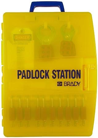 Brady Ready Access Padlock Station Unfilled