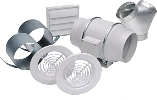 Soler Palau S P KIT-TD150-DV Inline Mixed Flow Duct Exhaust Fan Kit
