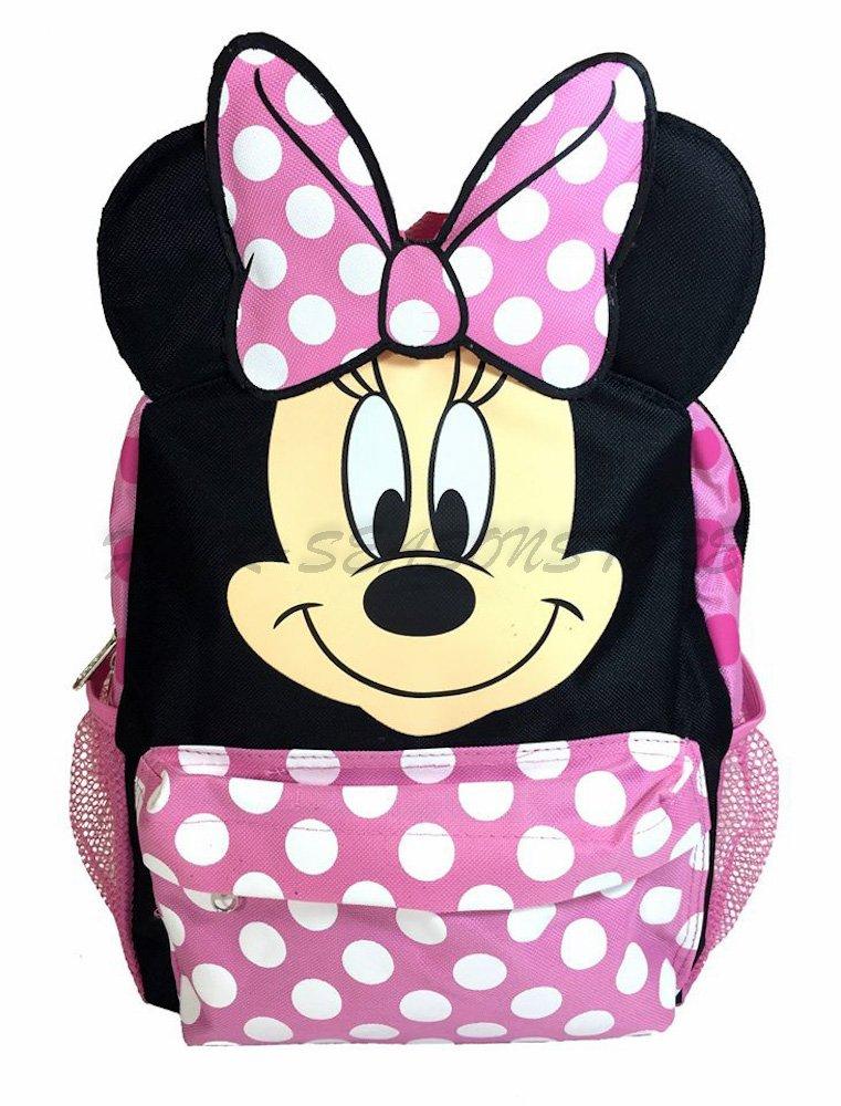 Disney Minnie Mouse 12 Mini Rucksack für Kinder Schulranzen – Regular