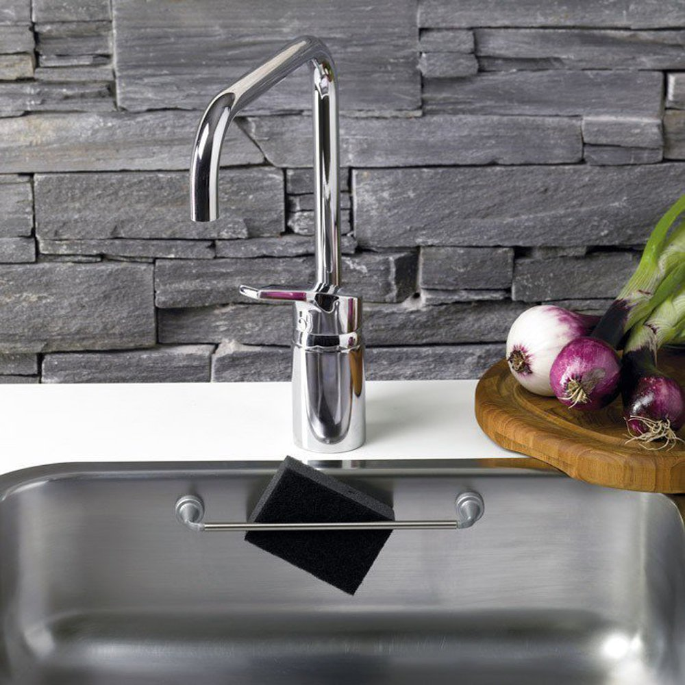 Amazon.com: REENBERGS Magnetic Cloth Rail For Stainless Steel Sink Used:  Kitchen U0026 Dining