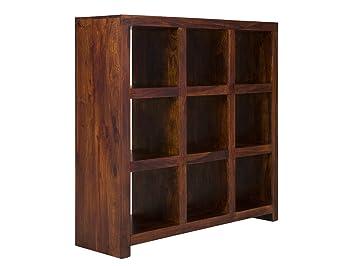 Massivum Bücher Regal Palison 130x138x42 Cm Aus Palisander Holz