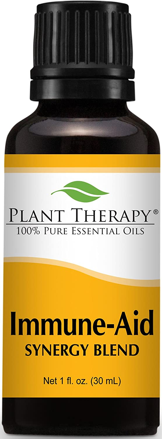 Plant Therapy Immune Aid Synergy Essential Oil 100% Pure, Undiluted, Therapeutic Grade (30 mL (1 oz))