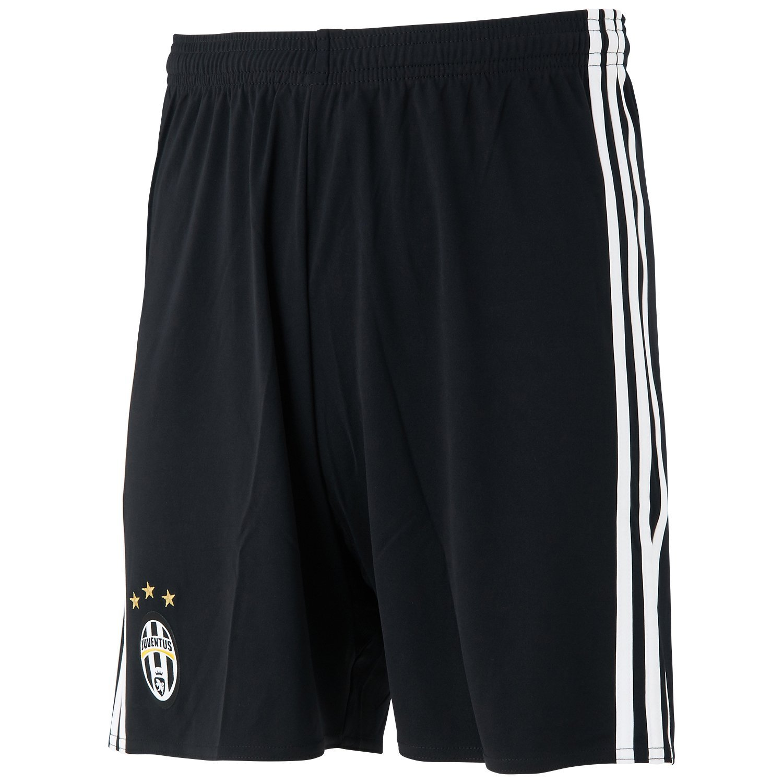 6560e4994 Amazon.com   adidas 2016-2017 Juventus Home Shorts (Black)   Clothing