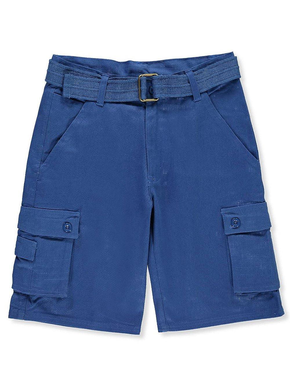 Quad Seven Boys' Belted Cargo Shorts 12