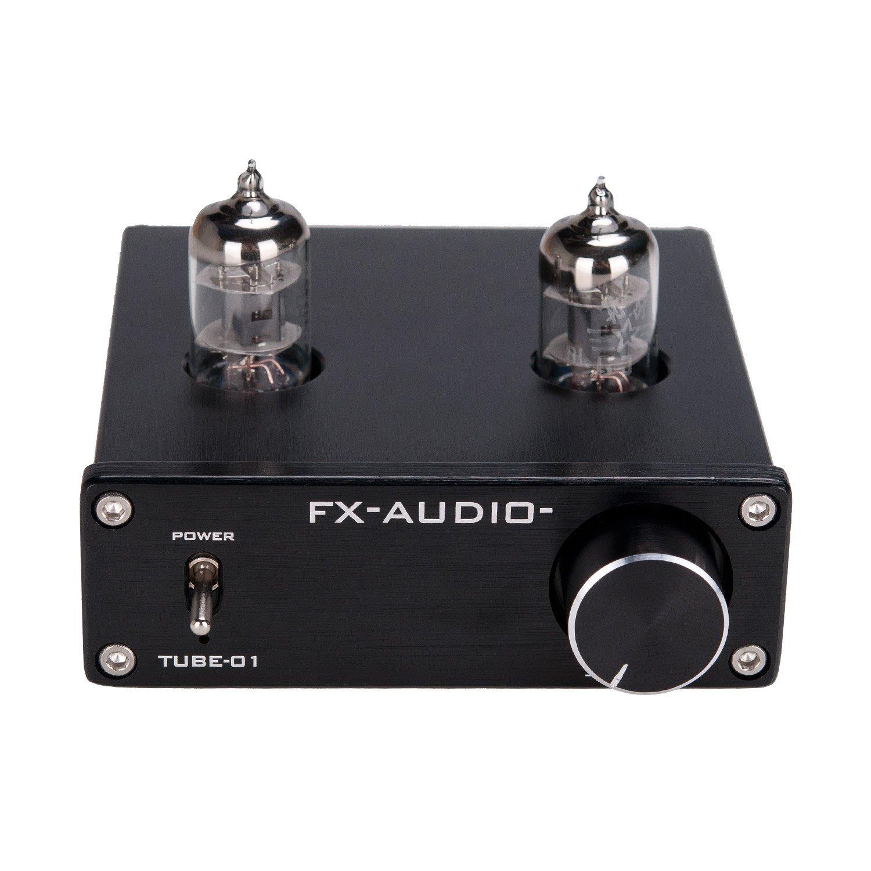 Lysignal 6J1 Tube Box Headphone Amplifier Preamp DC12V Black LYCHEE LIMITED 4330355054