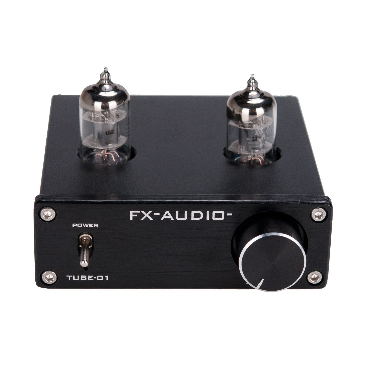 Lysignal 6J1 Tube Box Headphone Amplifier Preamp DC12V Black
