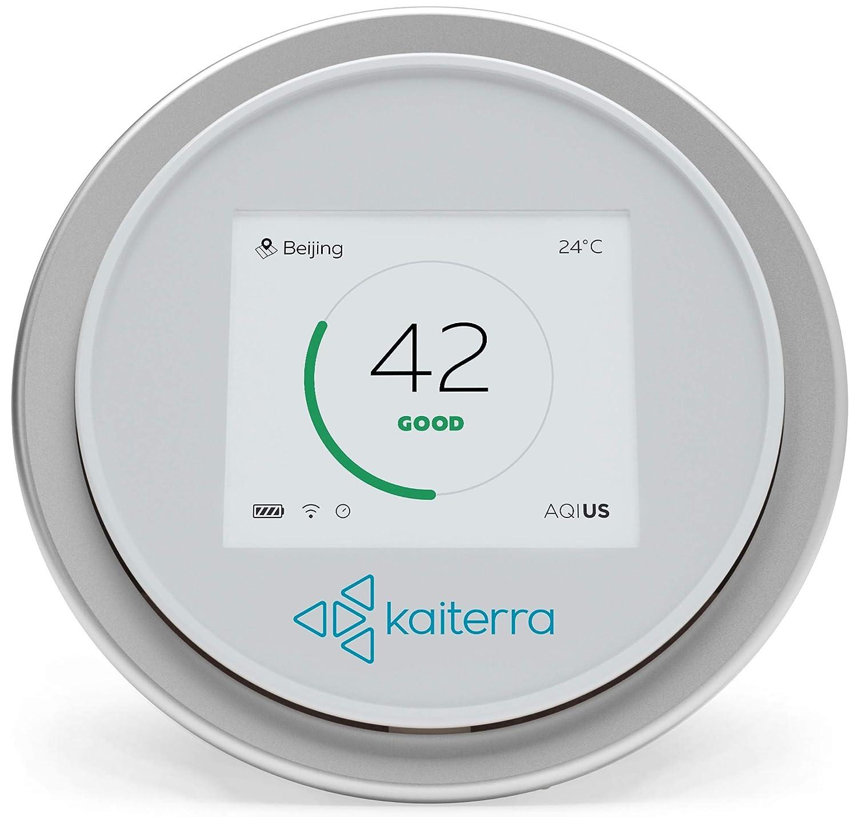 Laser Egg; medidor de calidad de aire interior. Mide PM2,5/polvo/temperatura/humedad. Monitoreo de polución de aire en casas y oficinas, Wi-Fi habilitados, ...