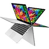 """TECLAST F6 Pro Ordenador Portátil táctil Convertible de 13.3"""" Full HD IPS Ultrabook Plata (Intel Core M3-7Y30, 1.0-2.6Ghz, 1920 x 1200p, 8 Go de RAM, SSD 128 Go, Intel HD 6150, Windows 10)"""