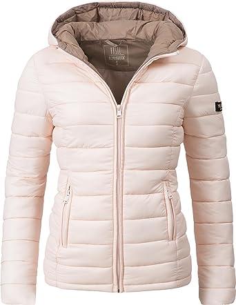 Marikoo Damen Winter-Jacke Steppjacke Lucy 11 Farben XS-XXL  Amazon.de   Bekleidung 9e55a74fd5