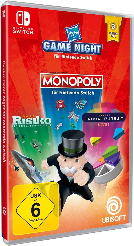 Hasbro Game Night - Nintendo Switch [Importación alemana]: Amazon.es: Videojuegos