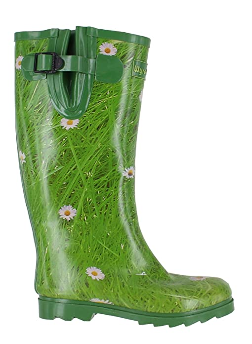e589279a9f Wyre Valley Womens Pattern Animal Wellingtons Wellies Muck Boots   Amazon.co.uk  Shoes   Bags