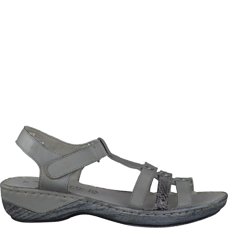 Tamaris die 1-1-28612-20 Damen Sandale, Sandalette, Sommerschuhe für die Tamaris modebewusste Frau Grau Comb 43ef94