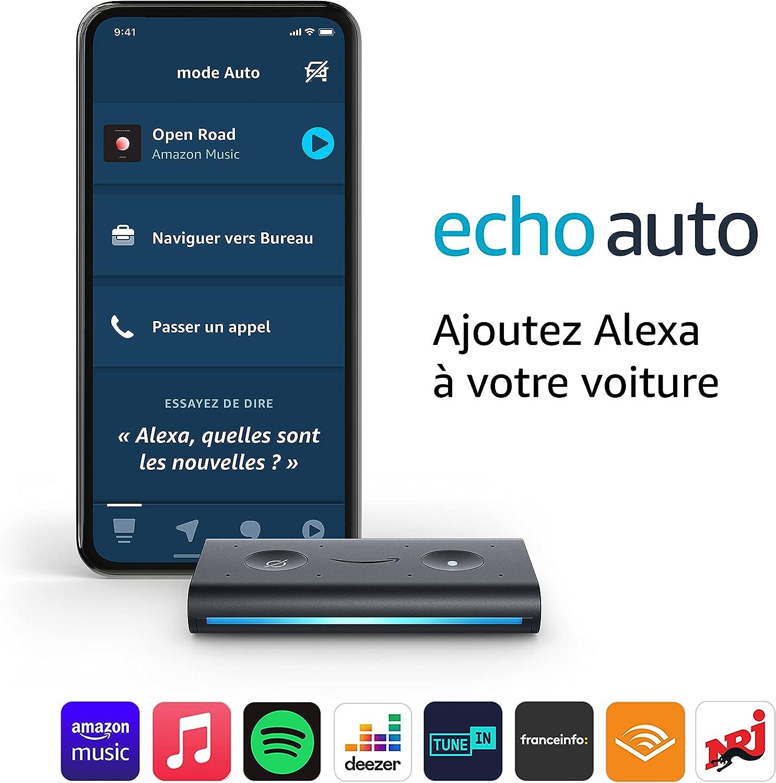 Echo Auto, Ajoutez Alexa à votre voiture