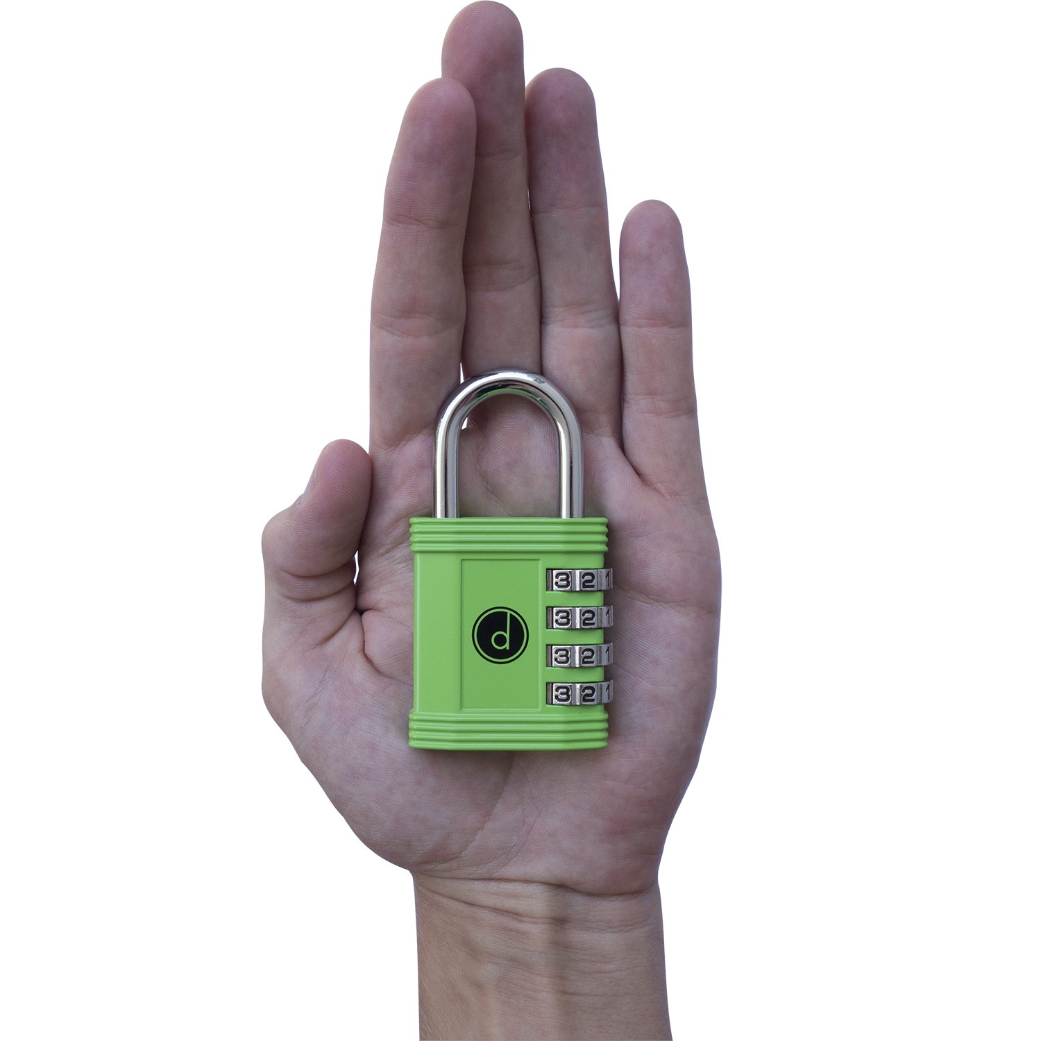 Padlock - 4 Digit Combination Lock for Gym, Sports, School & Employee Locker, Outdoor, Fence, Hasp and Storage - All Weather Metal & Steel - Easy to Set Your Own Keyless Resettable Combo - Green by desired tools (Image #2)