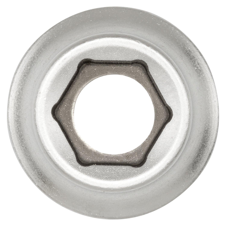 | en acier CV chrom/é 1//2 3 douilles 1//2 /à 6 pans 15 mm par WIESEMANN 1893 80683 entra/înement 12,5 mm