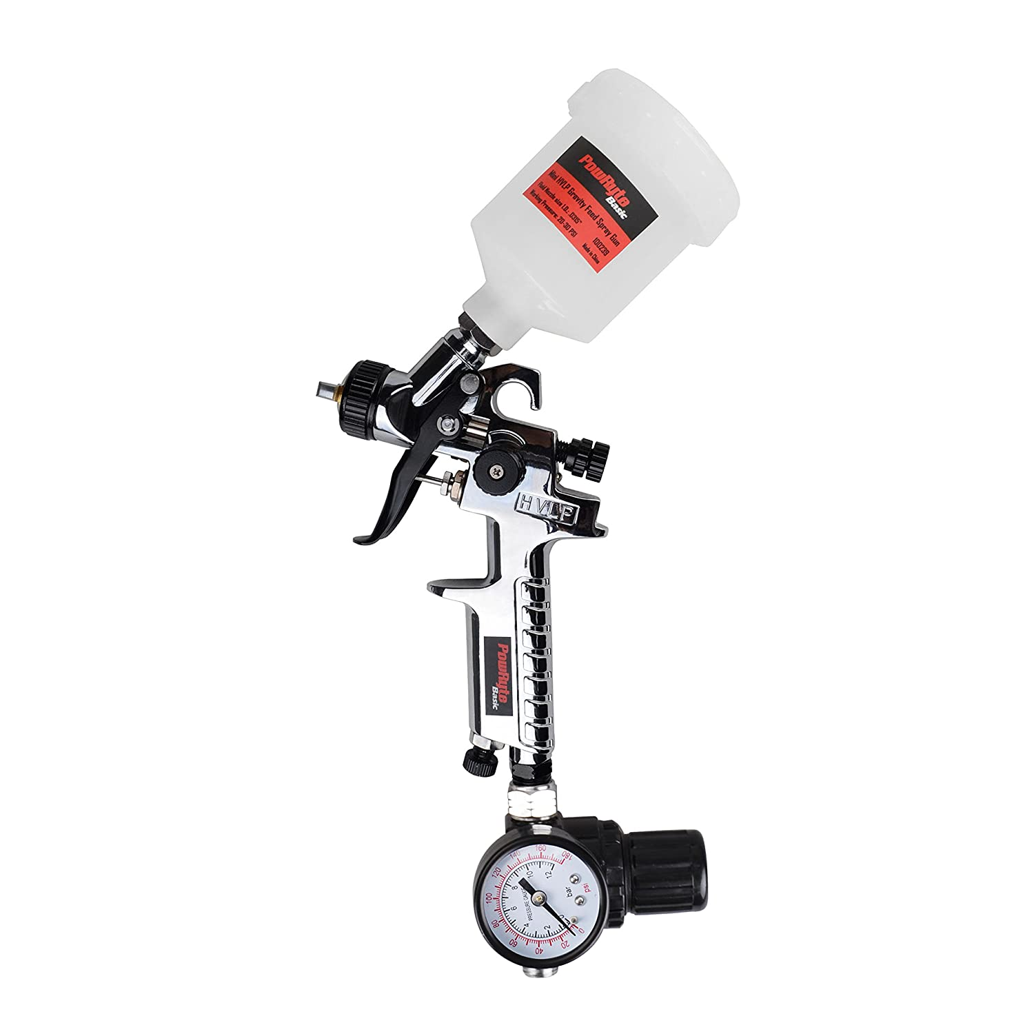 PowRyte Basic Mini Gravity Feed Air Spray Gun