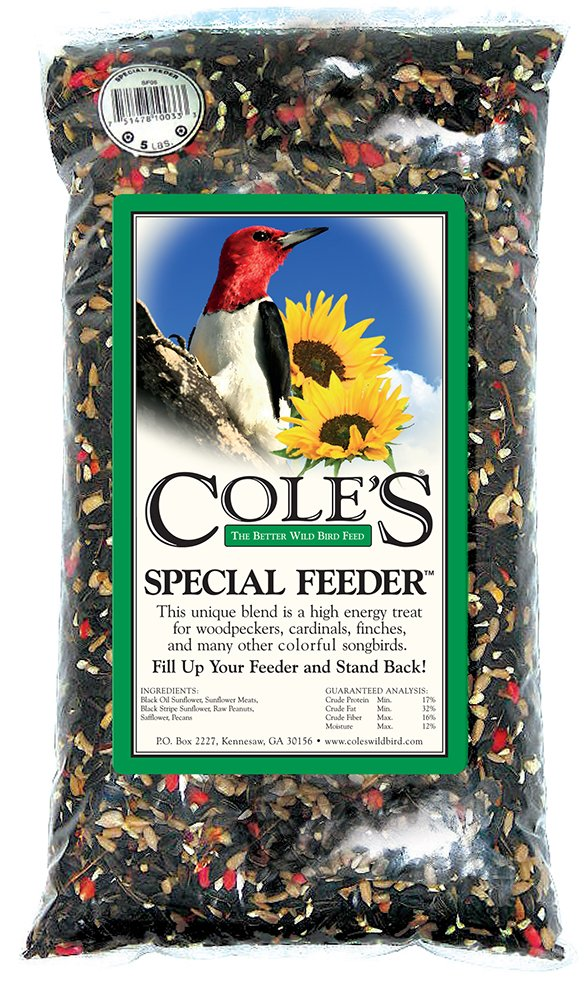 Cole's SF20 Special Feeder Bird Seed, 20-Pound by Cole's Wild Bird Products