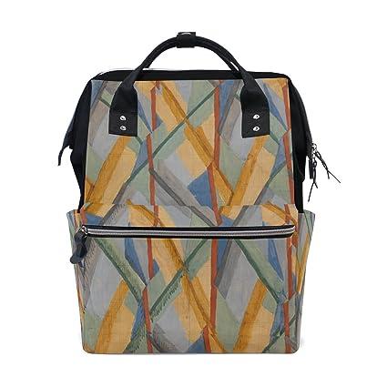 coosun arte pintura muti-Function – Bolso mochila de gran capacidad mochila de viaje