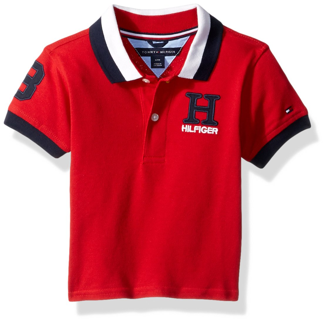 f936cacfa17e Galleon - Tommy Hilfiger Baby Boys Short Sleeve Ivy Polo