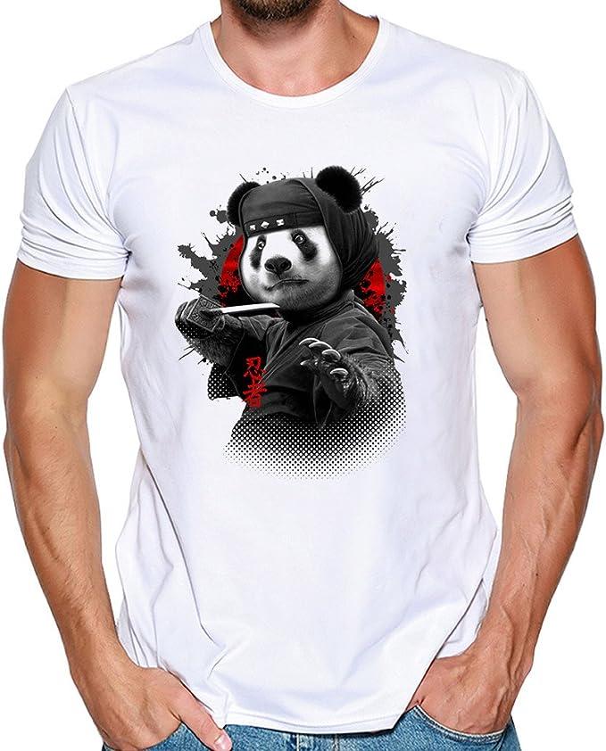 Kinlene Camiseta de Manga Corta para Hombre Camiseta de Manga ...