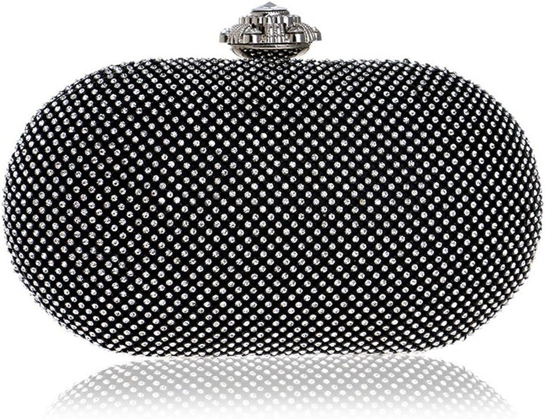 KERVINJESSIE Womens Clutch Evening Bag Banquet Bag Fashion Diamond Bag Handbag Crossbody Bag