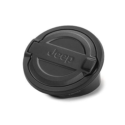 Jeep Fuel Door (Black) - 82215123: Automotive