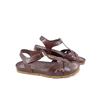 fa500de04 Women s Yokono Villa 051 T-Strap Sandal EU 39   UK 6 Brown  Amazon.co.uk   Shoes   Bags
