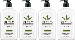 product image for Hempz Original Herbal Body Moisturizer pmMzy, 4Units (17 Fluid Ounce)