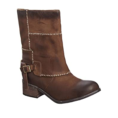 0c09279a524 Amazon.com | Antelope Women's 376 Taupe Leather Mid Calf Boots 36 ...