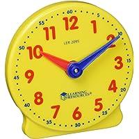 Learning Resources NG-130 Reloj Estudiantil Big Time Student Clock, 12 Horas