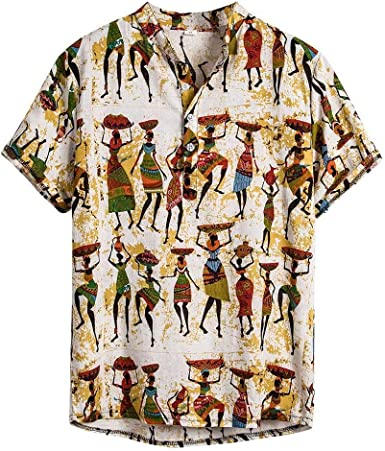 Ultra Moda Camisa Hawaiana Hombre Manga Corta Camisa Verano Hombre Camisas Casual para Hombre Estilo Bohemio impresión de Hawaii Playa Camisas Hombre Verano Polos Manga Corta Hombre Camiseta: Amazon.es: Ropa y accesorios