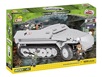 cobi 2442 small army world war ii sd kfz 251 hanomag amazon co uk rh amazon co uk Military Hanomag Hanomag SS100