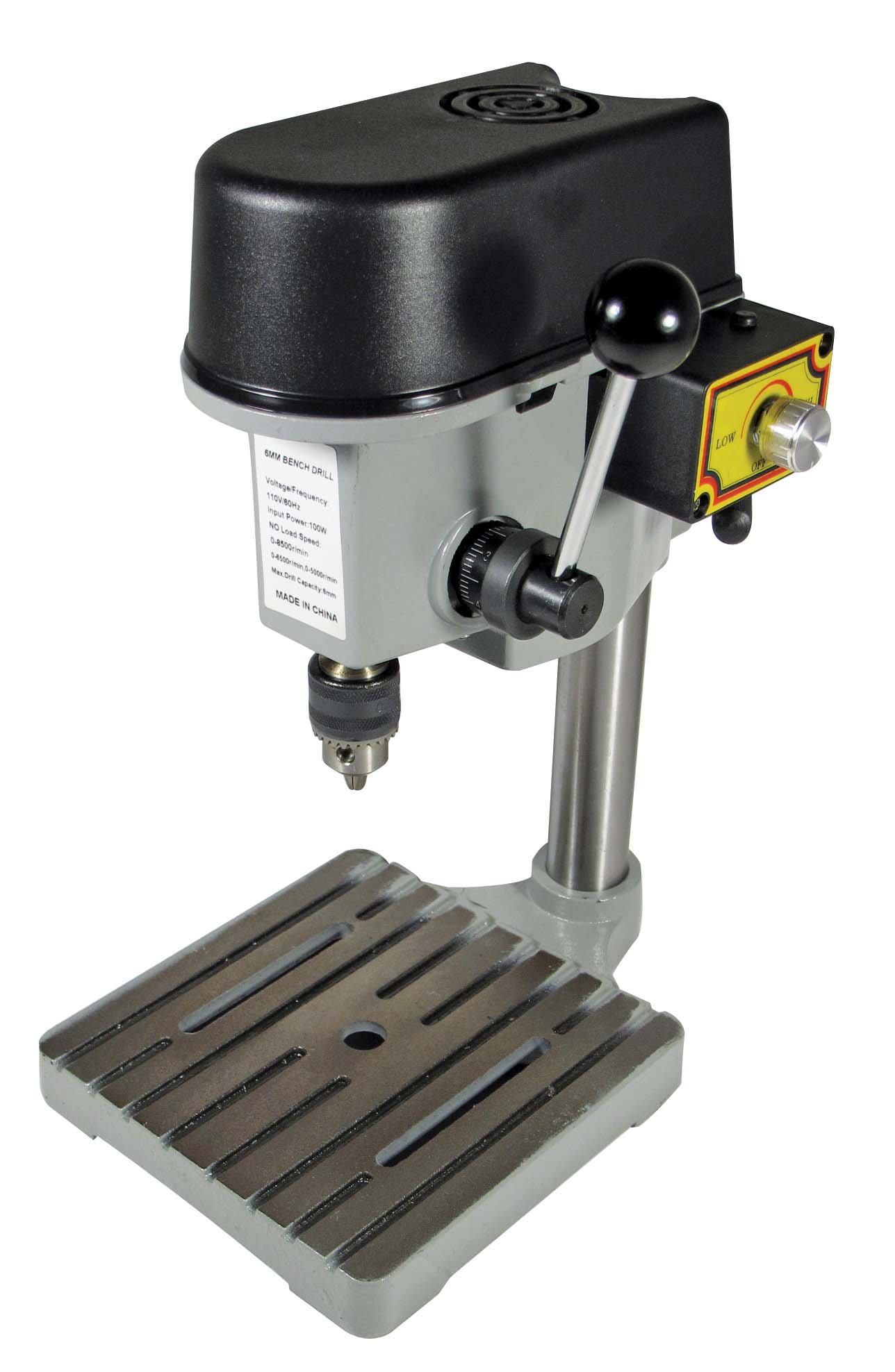 SE 3-Speed Mini Drill Press Bench by SE (Image #1)