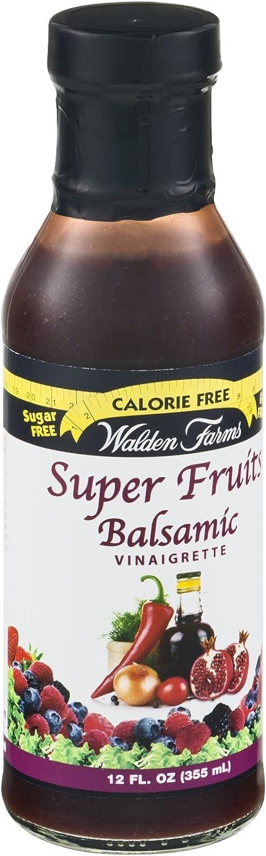 Walden Farms Calorie Free Super Fruits Balsamic Vinaigrette - 12 fl oz