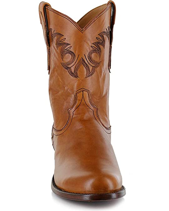 Amazon.com   El Dorado Mens Handmade Embroidered Western Boot Round Toe - Ed1151   Western