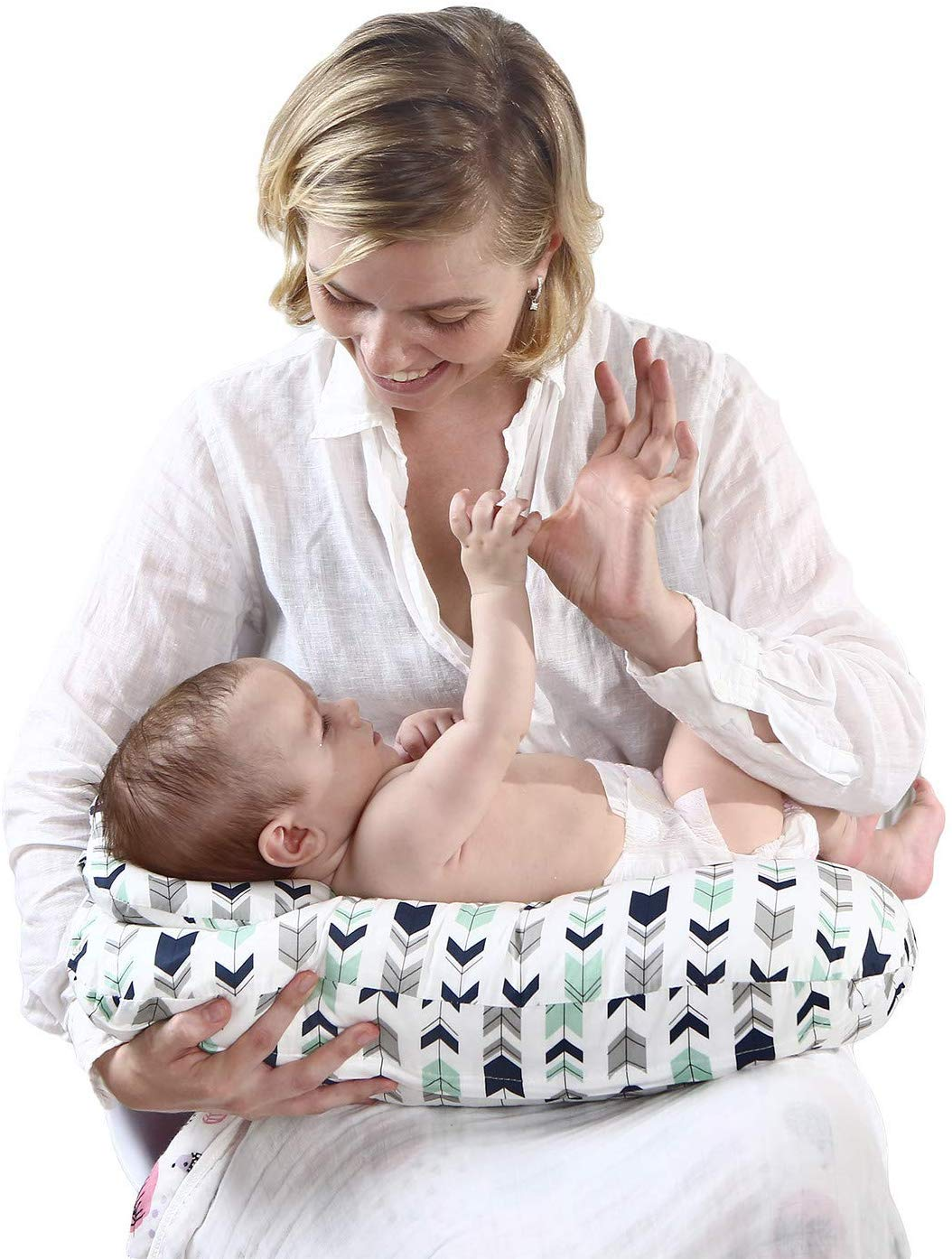 Amazon.com: Almohada de lactancia para bebé Miracle ...