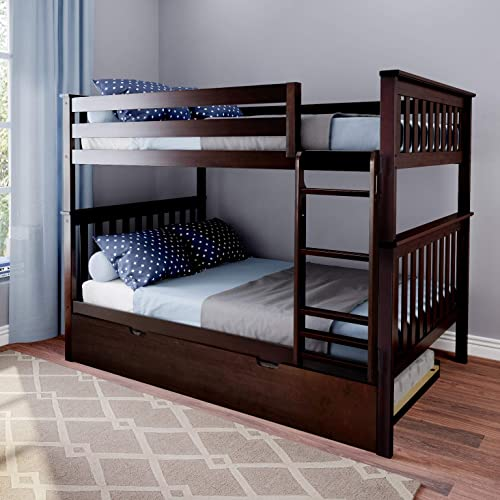 Max Lily Bunk Trundle Bed