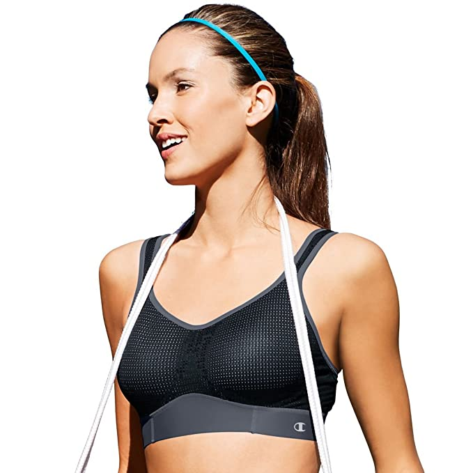 Image Unavailable. Image not available for. Color  Champion Mesh Sports Bra  With Smoothtec Band ... 7f9277790