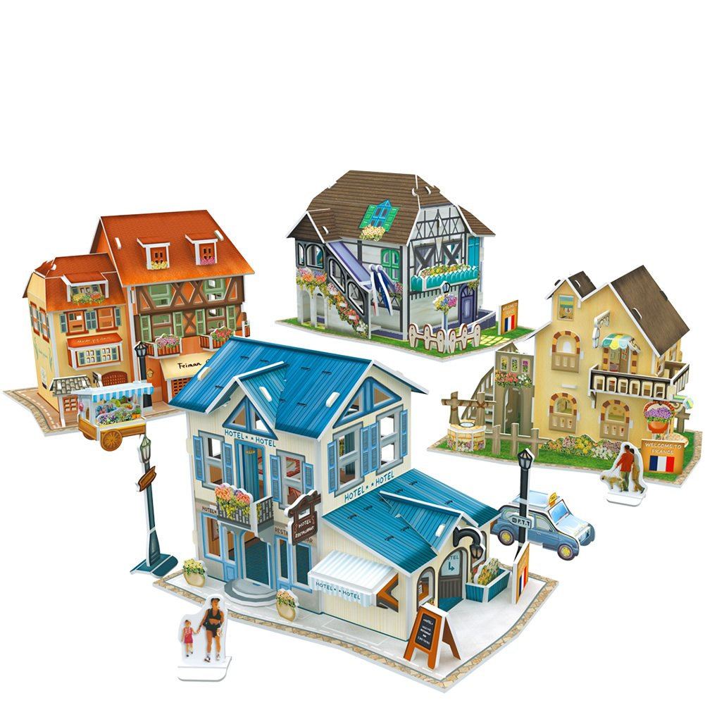 最高級 (France) - CubicFun World CubicFun Style 3D Puzzle France B072Z5Y76J Puzzle House Culture Collection, 161Pieces B072Z5Y76J, RESCUE99 (RESCUE SQUAD):f5a210af --- a0267596.xsph.ru
